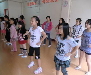 兒童街舞教學