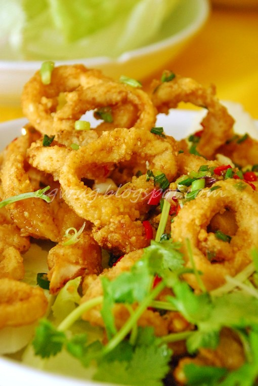 Salt & Pepper Deep Fried Squid