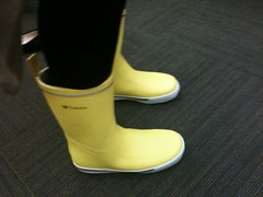 Do you hate these? (petit hiboux) Tags: iphone rainboots helpmeinternet