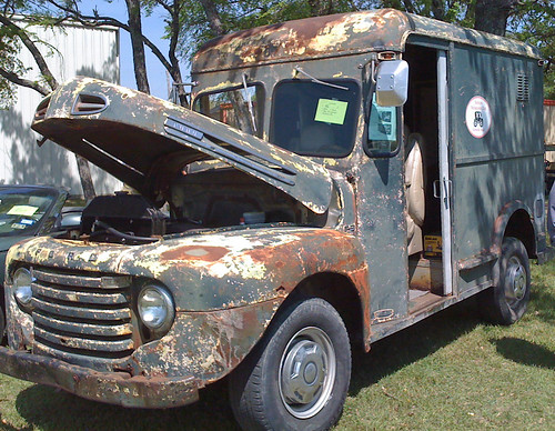 1946 Ford panel truck