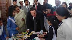 British PM visits girls school in Islamabad (UK in Pakistan) Tags: uk pakistan cameron islamabad britishprimeminister ukinpakistan