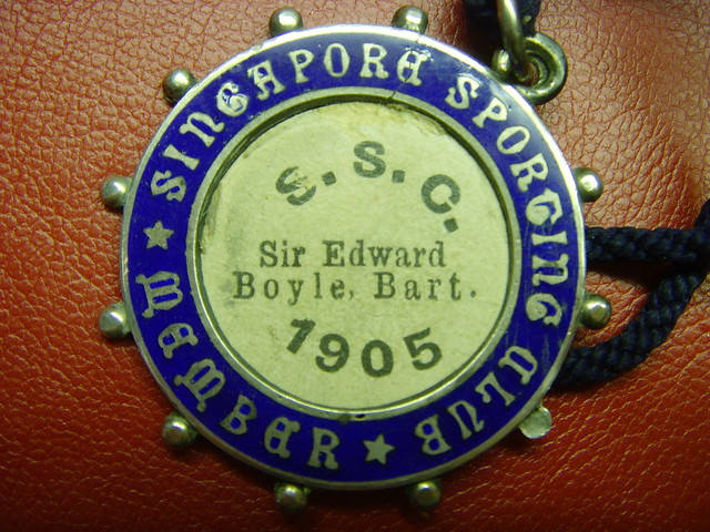Singapore Sporting Club Member