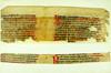 Manuscript fragments from Alphonsus X, Rex Castellae: Tabulae astronomicae