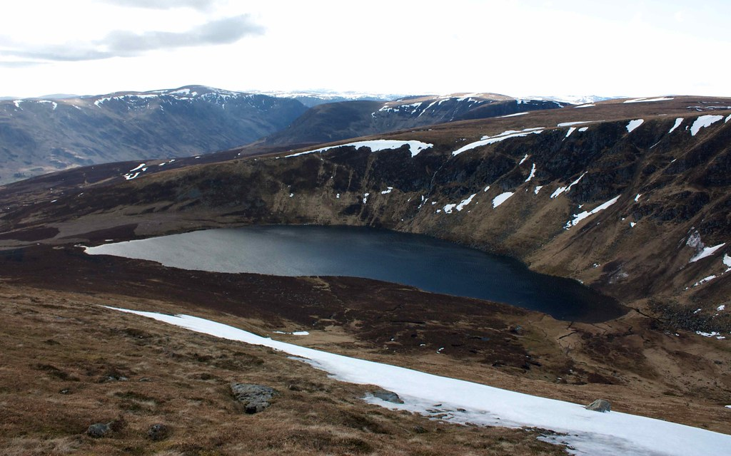 Loch Wharral from Ben Tirran