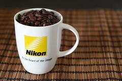 12/52 - Coffee Beans (Glitigal) Tags: cup coffee project 50mm beans nikon mug nikkor f18 weeks 52 d7000