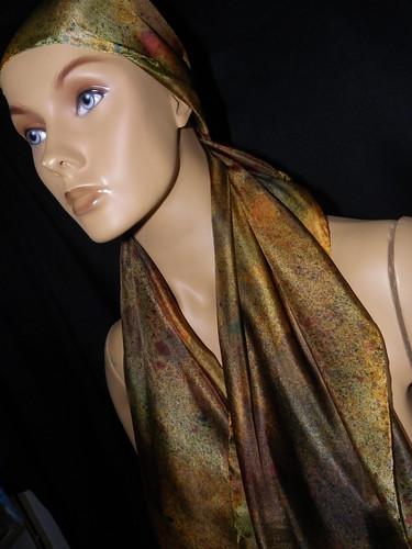 Jeitos & jeitos de amarrar lenços e echarpes!!!! by Atelier Mônica de Godoi