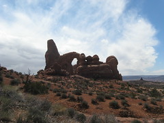 Turret Arch (Patricia Henschen) Tags: utah moab archesnationalpark turretarch
