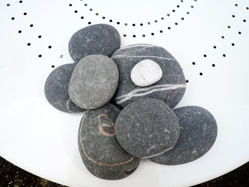 Westward Ho stones