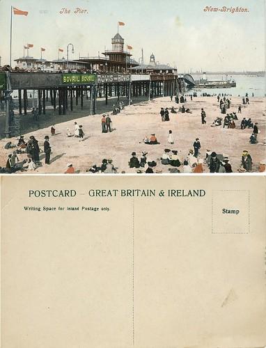 New Brighton Pier - Liverpool UK