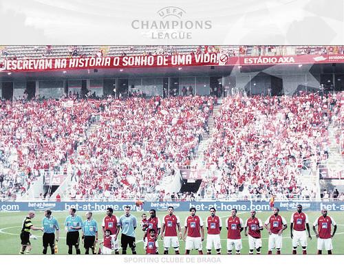 Braga na Liga dos Campeões