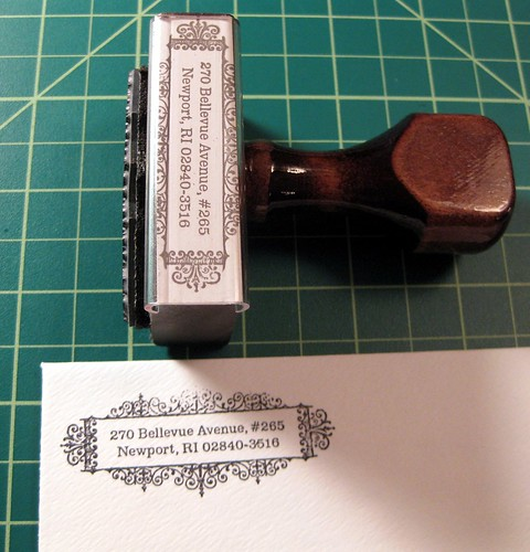 Return address stamp 3