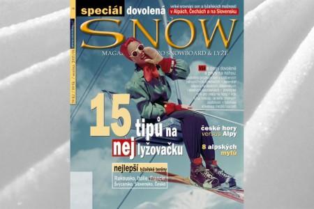 SNOW 08 SPECIÁL DOVOLENÁ - listopad 2003