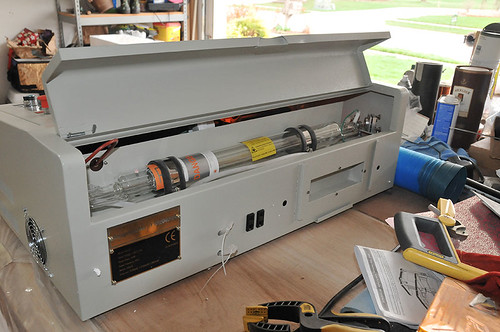 Laser Cutter arrives from China