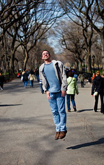 As High As You Can (geoff.greene) Tags: newyorkcity paul centralpark fool tapper tamron70200mm canon5dmark2 geoffgreenephotography nycwithmo2011