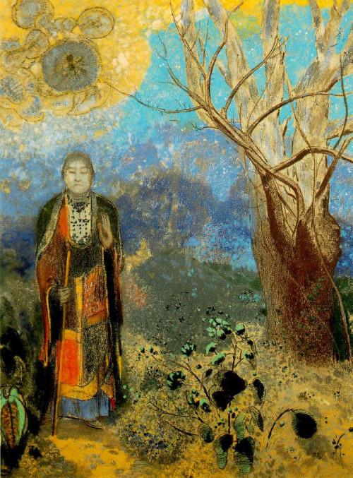 Odilon Redon Buddha