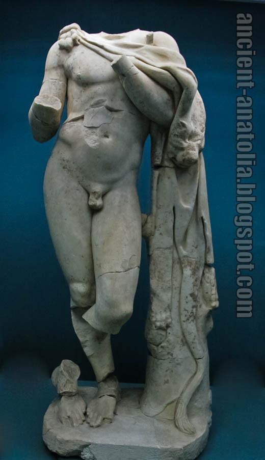 Aizanoi Satyr Statue