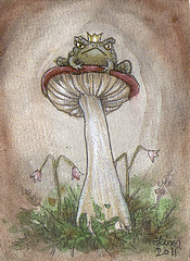 Toad ACEO