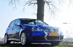 VW Golf MK5 R32 Photoshoot (Bas Fransen Photography) Tags: blue vw golf volkswagen photography 5 bas r32 fransen mk5 worldcars