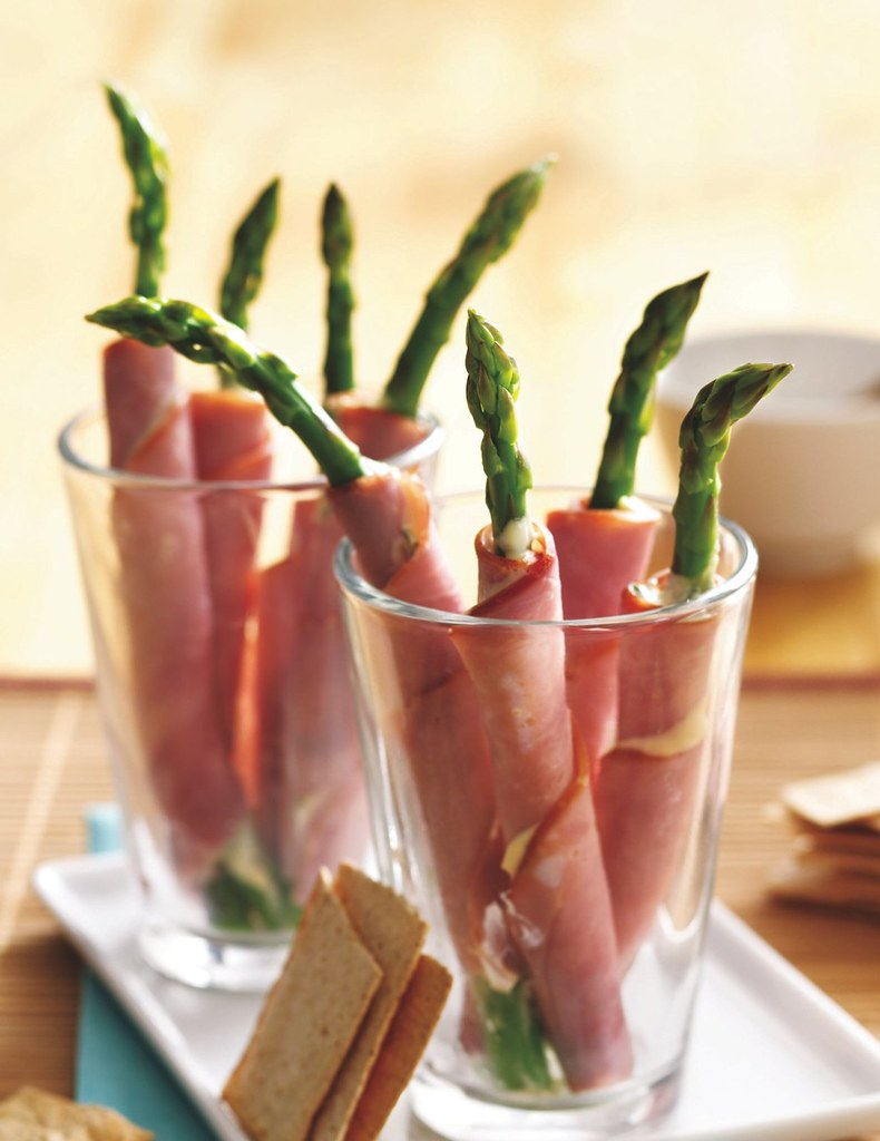 Ham and Asparagus Rolls Recipe