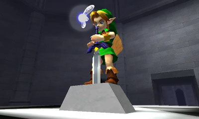 The Legend of Zelda:Ocarina of Time 3D