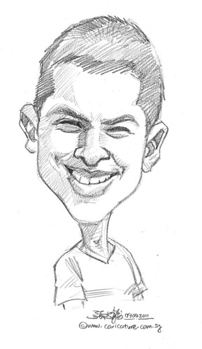 caricature in pencil - 41