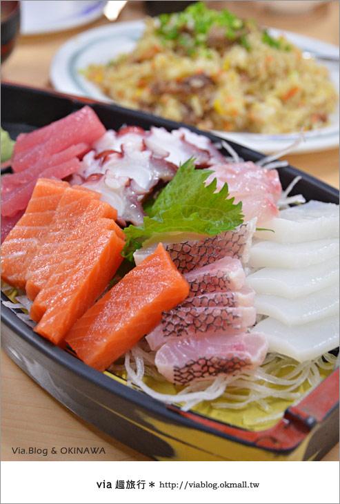【沖繩必買】跟via到沖繩國際通+牧志公設市場血拼、吃美食!25