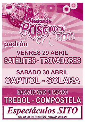 Padrón 2011 - Pascua - cartel orquestras pascuilla