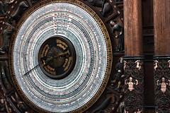 ziffernblatt astronomische uhr marienkirche rostock