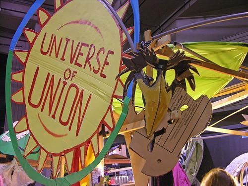 crow mask Universe of Union MayDay 2011