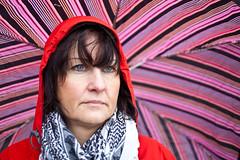 Under umbrella (Hkan Dahlstrm) Tags: portrait colors marie umbrella skne sweden f25 skane helsingborg 2011 ef50mmf25compactmacro canoneos5dmarkii sek