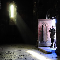 presence of light (Hovork, wherefore and why.) Tags: light armenia oldchurch simplybeautiful keghart visionqualitygroup art2011