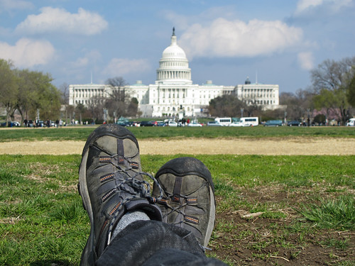 Boots in Washington D.C.