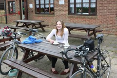 Alton Water cafe stop, 13 April 2011