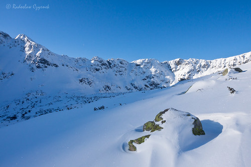 Valley of the Five Polish Lakes in winter, Tatra Mountains, Poland by Radoslav_