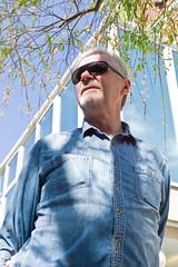Mike in sunglasses (drewleavy) Tags: leica rangefinder m9 digitalrangefinder leicam9