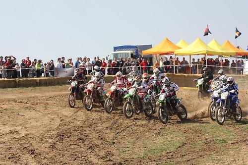 Salida Trofeo Segovia Motocross Carbonero el Mayor