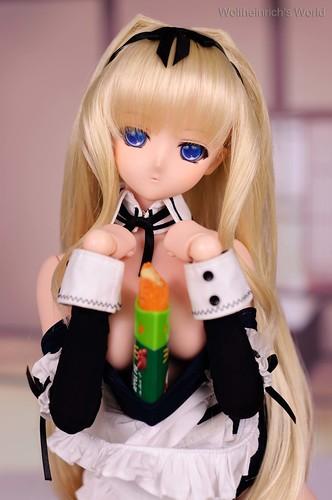 Dollfie Dream DD Kusugawa Sasara Peach Pai Temptation II by Wolfheinrich