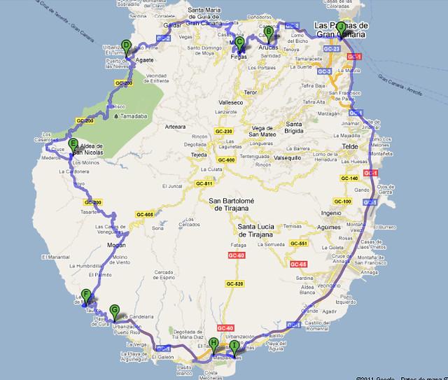 Mapa-Volta-Ilha-Gran-Canaria