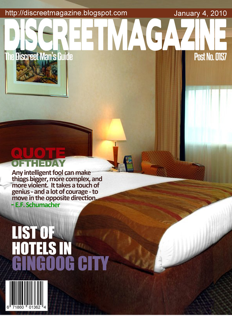 Discreet Magazine January 4 2010