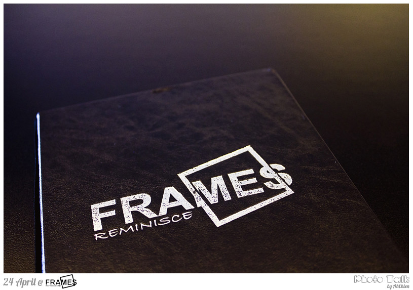Frames Cafe : Menu
