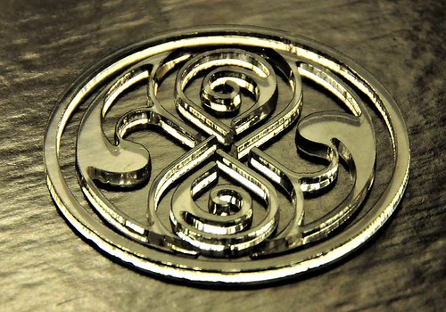 Laser Cut Seal of Rassilon