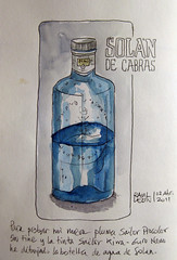 Botella-Solan (Bichobolas) Tags: fountainpen sailor watercolors winsornewton hahnemhle procolor kiwaguro bijoubox raulleon