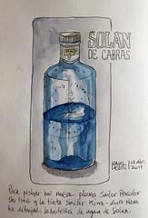 Botella-Solan (Bichobolas) Tags: fountainpen sailor watercolors winsornewton hahnemühle procolor kiwaguro bijoubox raulleon