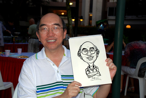 caricature live sketching for birthday party 16042011 - 10