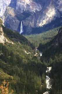 Bridal Veil Falls and Merced River - Explore