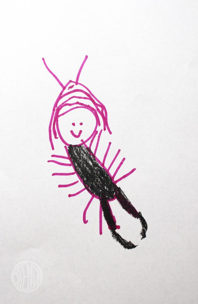 Bug as an earwig