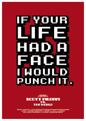 Scott Pilgrim Vs. The World (2010) *SOLD OUT* (Ant baena) Tags: print poster typography design screenprint movieposter filmposter scottpilgrim scottpilgrimvstheworld