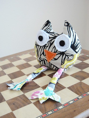 DIY Owl Pin Cushion 2