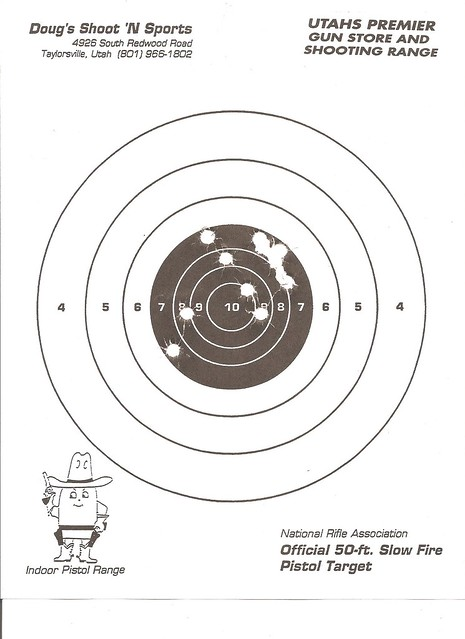 Sig p226 .40S&W first time out. - Range Report