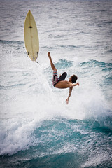 Hookipa Maui Flying Surfer